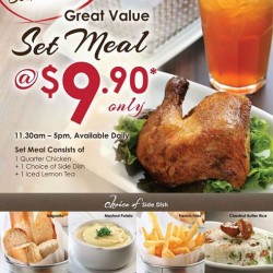 Poulét: Great Value Set Meal @$9.90