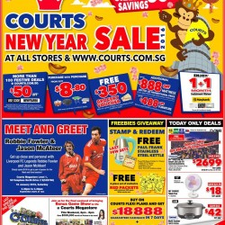 Courts: 1-day Only Festive Deals