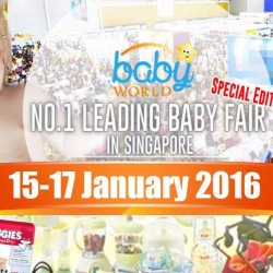 Singapore Expo: Baby World Fair