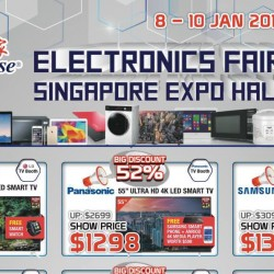 Singapore Expo: Audio House Electronics Fair