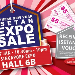 Singapore Expo: Isetan Chinese New Year Expo Sale and Japan Food Fair