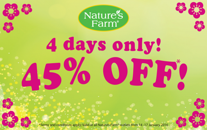 Nature's Farm: 45% OFF Health Supplements & 38% OFF Manuka Honey
