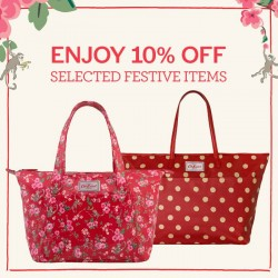 Cath Kidston: 10% OFF Selected Festive Items