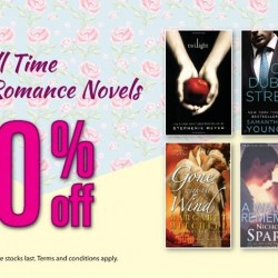 Popular Book Company: 20% OFF Romance Novels