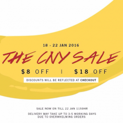 Heatwave Shoes: The CNY Sale @Save $8 OFF - $18 OFF