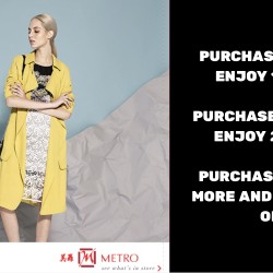 Metro: Up to 25% OFF at Ladies Department