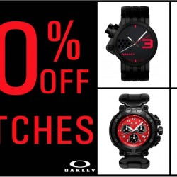 C.E.D.S Sportswear: 30% OFF Oakley Watches