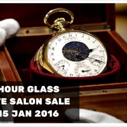 The Hour Glass: Private Salon Sale with Great Discounts on Luxury Timepieces