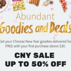 RedMart: Abundant Goodies and deals Up to 50% OFF + Additional 10% OFF on 1st Order