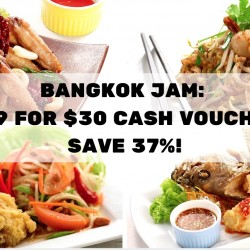 Bangkok Jam: $19 for a $30 Cash Voucher - Save 37%!