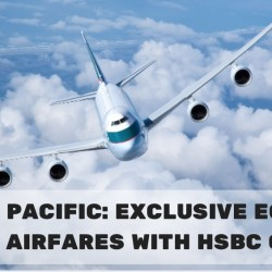 Cathay Pacific: Exclusive Economy Class Airfares from $178 with HSBC Cards