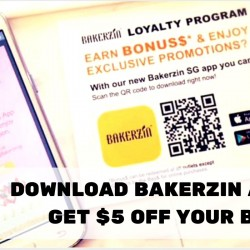 Bakerzin: Download Mobile App to Get $5 OFF Your Bill Instantly