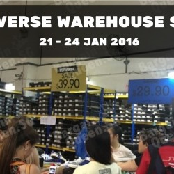 Converse: Annual Warehouse Sale 2016