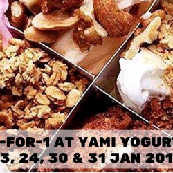 YAMI Yogurt: 1-for-1 Treat at ION Orchard