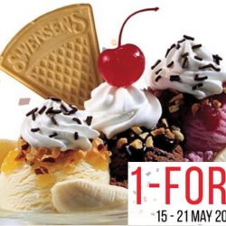 Swensens: 1-for-1 Sundaes on Mobile App!
