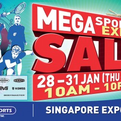 Singapore Expo: World of Sports Mega Sports Expo Sale