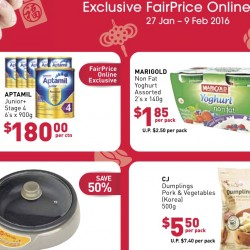 FairPrice: Exclusive Online Deals
