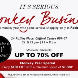 Reebonz SPACE: Up to 70% OFF + $188 OFF + $50 Gift Voucher!