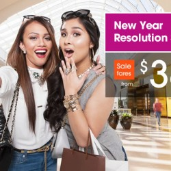 Jetstar: New Year Resolution Sale from $36!