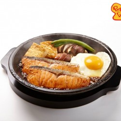 Pepper Lunch: Salmon Sukiyaki at Promotional Price of $14.80