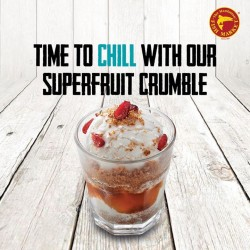 Manhattan Fish Market: Superfruit Crumble at $1 with any drink