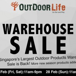 Outdoor Life: Warehouse Sale Up to 80% OFF