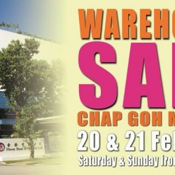 Phoon Huat: First Warehouse Sale from 20 to 21 Feb 2016