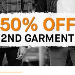 Tangs VivoCity: 50% OFF 2nd Garment at Billabong