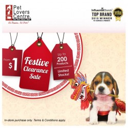 Pet Lovers Centre: Festive Clearance Sale