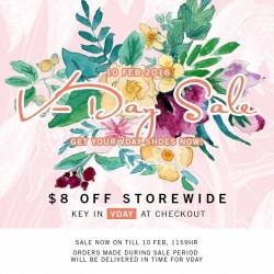 Heatwave Shoes: $8 OFF at Online Store