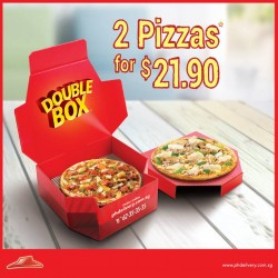 Pizza Hut: 2 Pizzas for the Price of 1 for Delivery