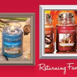 Yankee Candle: 20% OFF Selected Candles