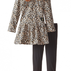 Amazon: Juicy Couture Little Girls' Brown Printed Tunic and Leggings