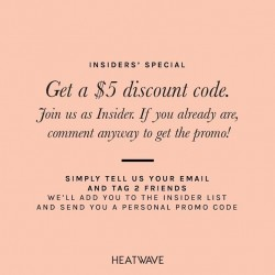 heatwave shoes coupon code