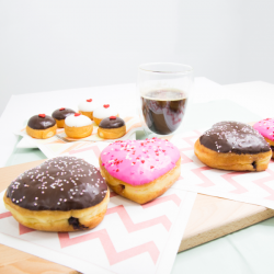 Dunkin Donuts: Limited Edition Valentine's Day Donuts & 50% off 2nd Drink