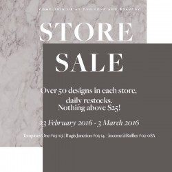 Love and Bravery: Store Sale - Everything below $25
