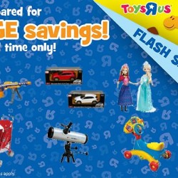 Toyrus: Flash Sales on NERF and Disney's Frozen Toys