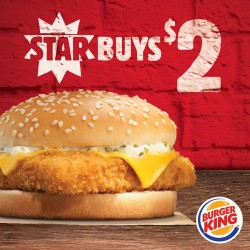 Burger King: Star Buy Fish'N Crisp at Only $2