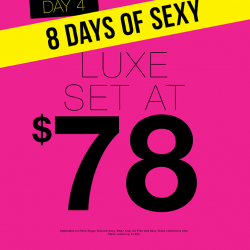La Senza: Day 4 Luxe Set at $78