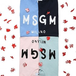 Club 21: 15% off 2 Logo Tees from MSGM
