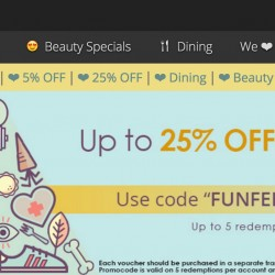 Groupon.sg: Up to 25% OFF on selected deals!