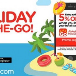 AirAsiaGo App offer: Book and get 10% OFF