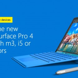 Microsoft Singapore Online Store: Student Special: Surface Pro 3 @ $748