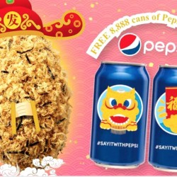 Breadtalk: Free 2 Cans of Pepsi with Purchase of 4 Seaweed Flosss