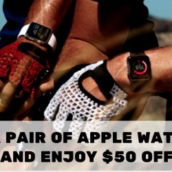 Best Denki: Buy a Pair of Apple Watches & Save $50!