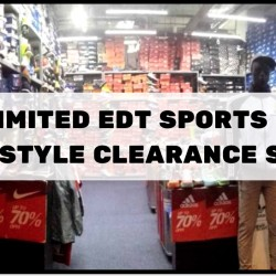 Limited Edt: Sports and Lifestyle Clearance Sale