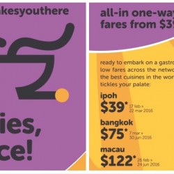 Tigerair: All-in One-way Fares from $39 + 10% OFF Promo Code