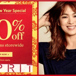 Esprit: Chinese New Year Special 30% OFF min. 2 Items Storewide