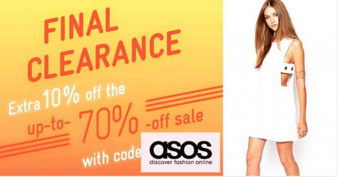 ce3c102c6d34a2 ASOS  Up to 70% OFF Sale + Additional 10% OFF Till 15 Feb 2016