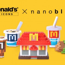 McDonald's: Food Icons Nanoblock Limited Edition Collector's Kit from 22 Feb